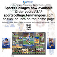 Sports Collage and Digital Sports Cards