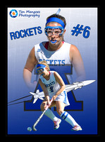 Field Hockey Digital Sports Card