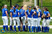 Auburn vs Leicester Softball CD2 QF 6-9-18